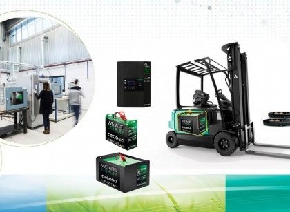 Li-Ion batteries for forklifts