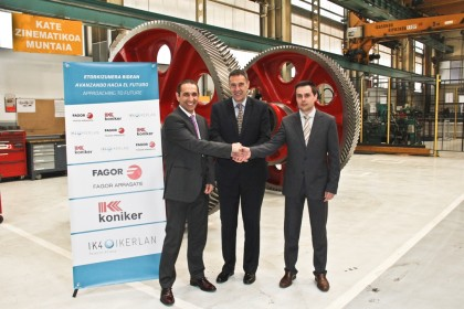 FAGOR ARRASATE, KONIKER and IK4-IKERLAN sign an agreement to explore advanced manufacturing technologies and Industry 4.0