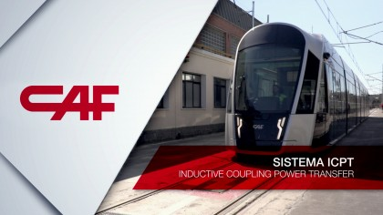 CAF and IK4-IKERLAN introduce the wireless charging technology in the railroad sector